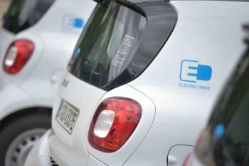 Smart EQ fortwo Fahrzeuge fuer Stuttgarter car2go