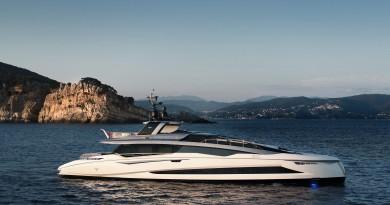 Consegnato il nuovo Motor Yacht Tecnomar EVO120