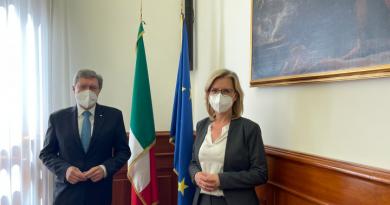 Il Ministro Giovannini ha ricevuto l'omologa austriaca Leonore Gewessler