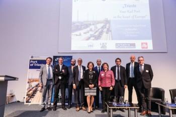 Präsentation des Hafens Triest in München