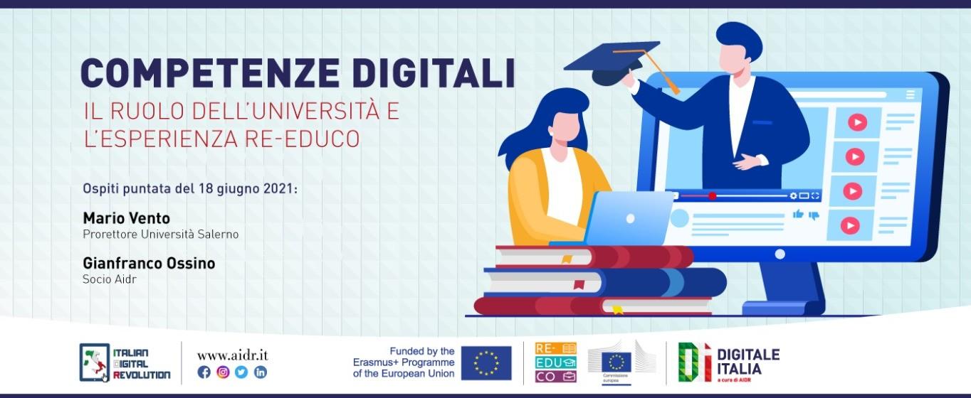 Competenze digitali, il ruolo dell'università. Approfondimento a Digitale Italia Vento: a Salerno innovazione didattica trasversale