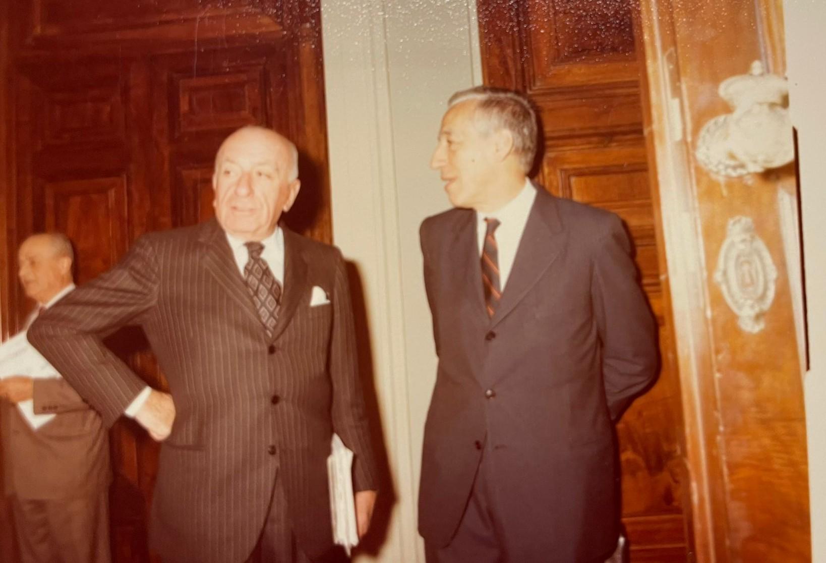 Egidio Ortonba e Giacomo Costa