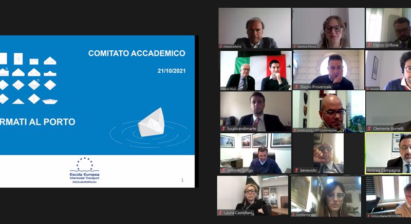 """Riunione annuale del Comitato Accademico Formazione e Occupazione del progetto  """"Formati al Porto"""""""