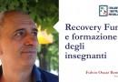 Recovery found e formazione degli insegnanti