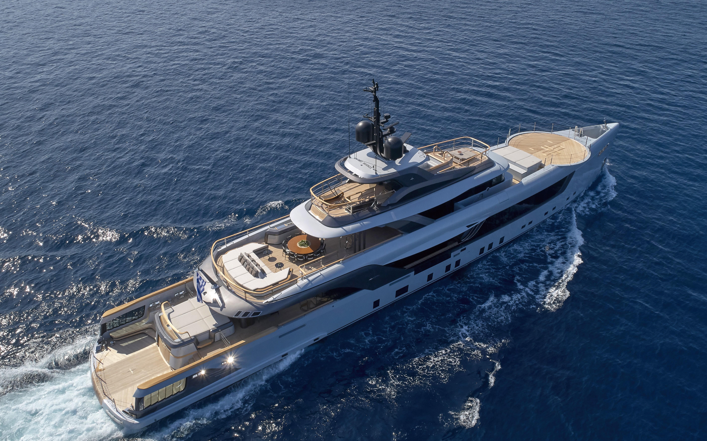 GECO, il megayacht di 55 metri firmato Admiral
