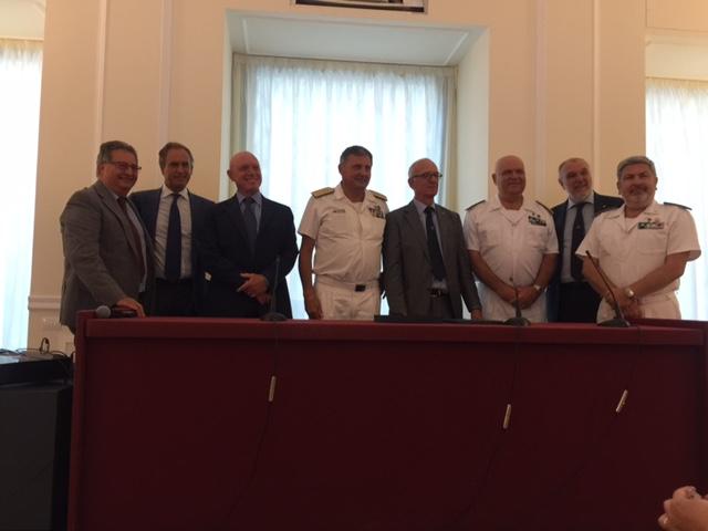 Napoli, il Propeller Club saluta l'ammiraglio Marzano