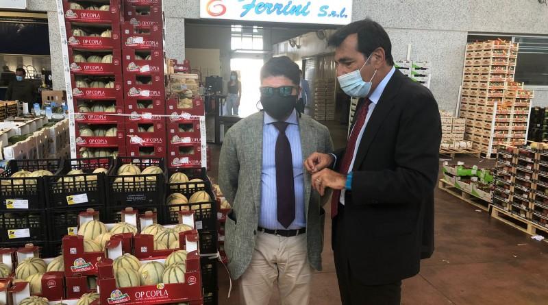 Nella Foto da destra Pino Musolino Presidente dell'AdSP MTCS e Fabio Pallottini CEO di Car