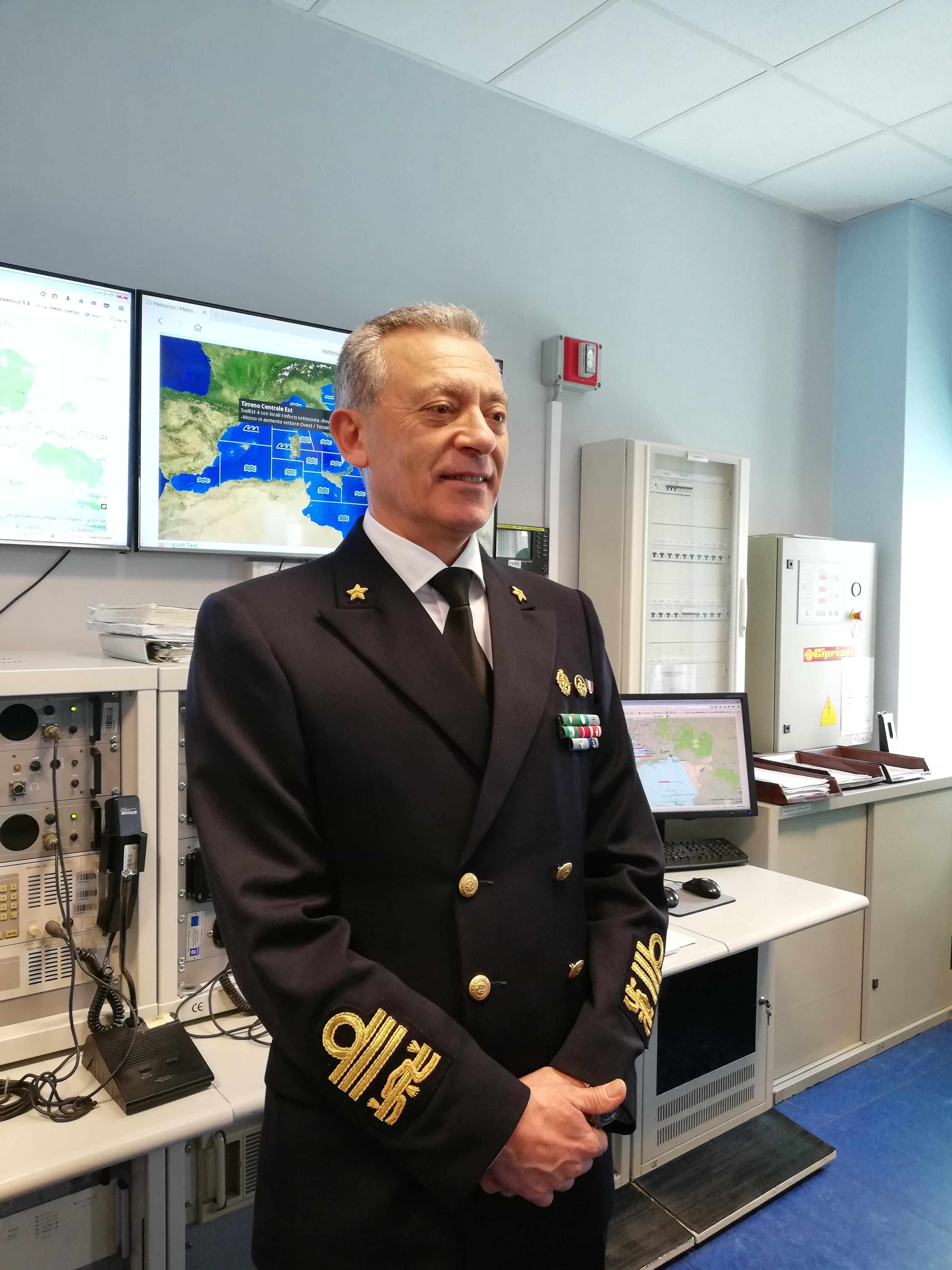 Ammiraglio Ispettore Capo Giovanni Pettorino