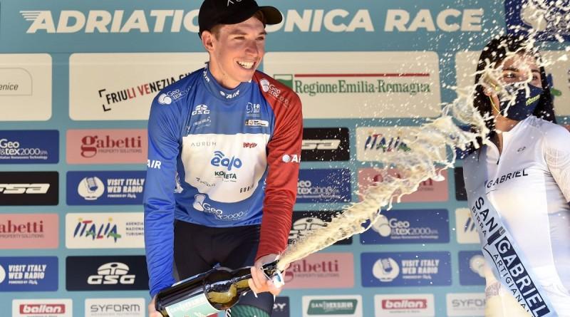 Lorenzo Fortunato vince l'Adriatica Ionica Race 2021