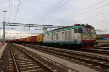il treno in partenza da venezia