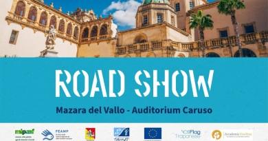"""Martedì 22 giugno il Primo Road Show a Mazara del Vallo, Auditorium Comunale """"Mario Caruso"""""""