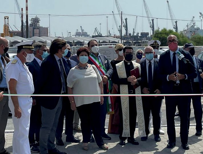 inaugurazione ministra bellanova a Taranto