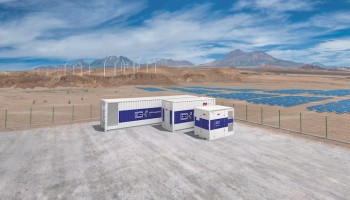 Rolls-Royce MTU Batteriecontainer Battery Storage