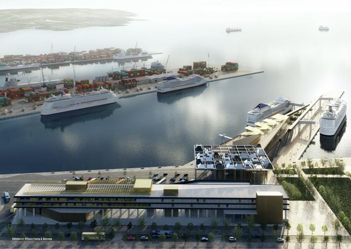 Ecco il progetto del terminal crociere della Spezia