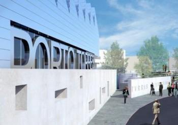 Un rendering del Terminal di porto Torres, tra gli interventi più importanti dell'Ap nel prossimo triennio