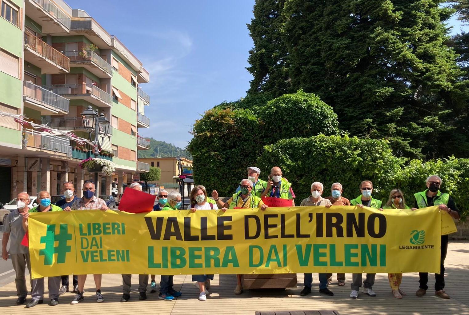 Flash mob Legambiente #liberidaiveleni <br /> la Valle dell' Irno